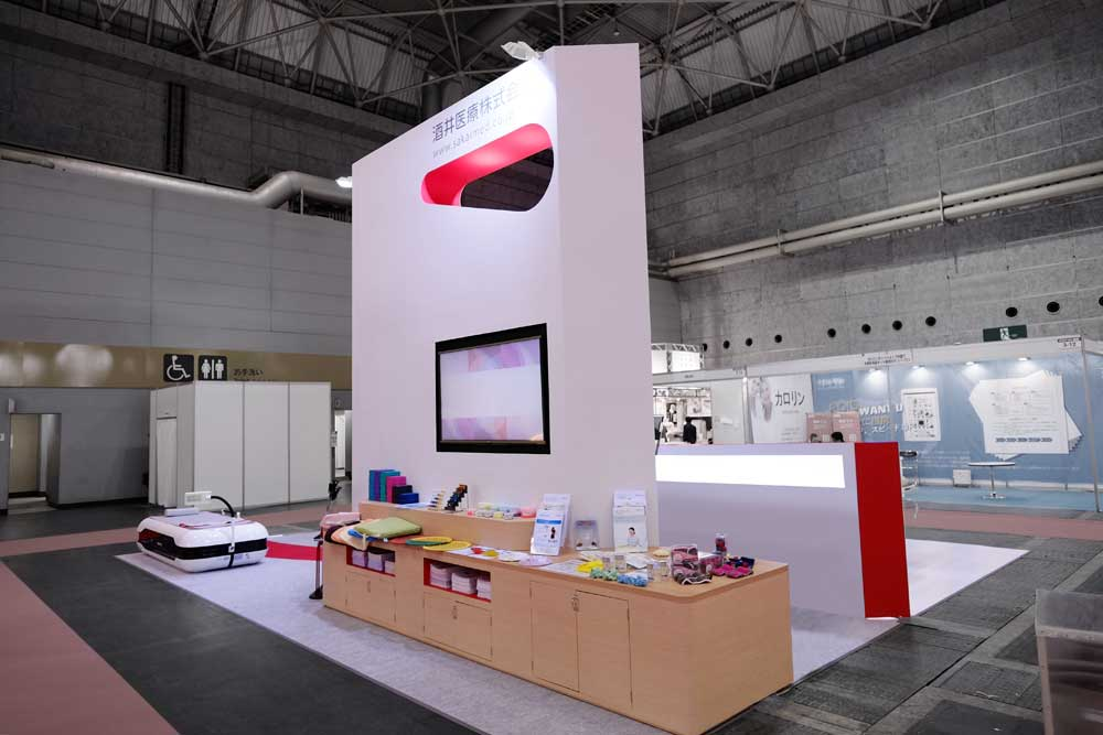 Exhibition Stand Production : Sakaimed stand module designcafe™|空間デザイン 展示会
