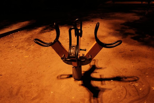 H10 Itacaの近所の公園に設置されていた遊具。