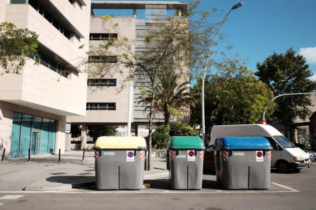 Media TICの目の前で見つけたゴミ回収ボックス。