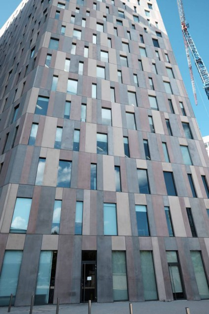 Diagonal 197|外壁のディティール