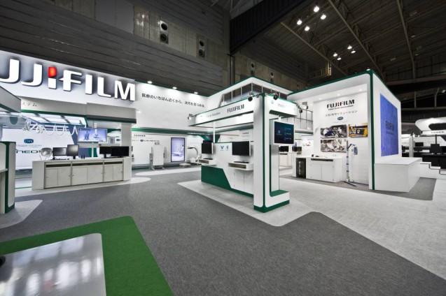 展示会ブースデザイン、展示会装飾、事例|ITEM in JRC 2017 富士フイルムブース (9)
