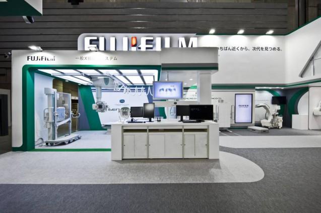 展示会ブースデザイン、展示会装飾、事例|ITEM in JRC 2017 富士フイルムブース (10)