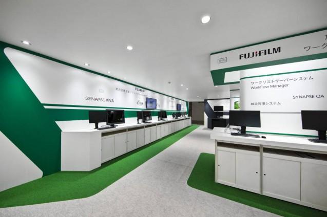 展示会ブースデザイン、展示会装飾、事例|ITEM in JRC 2017 富士フイルムブース (19)