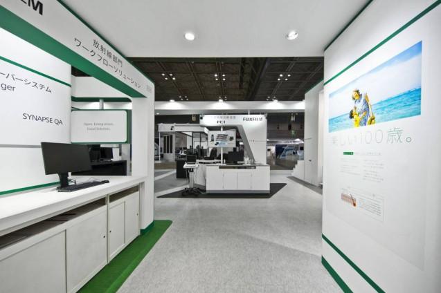 展示会ブースデザイン、展示会装飾、事例|ITEM in JRC 2017 富士フイルムブース (21)