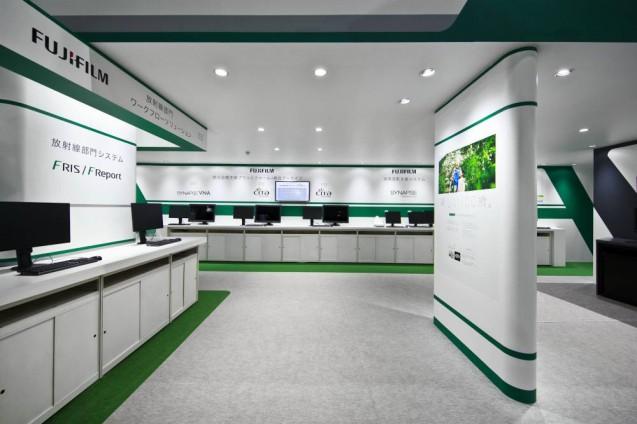 展示会ブースデザイン、展示会装飾、事例|ITEM in JRC 2017 富士フイルムブース (24)