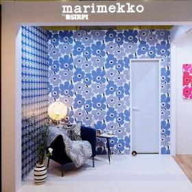 """DECOON 2017 JAPANTEX """"marimekko@sirpi"""" booth"""