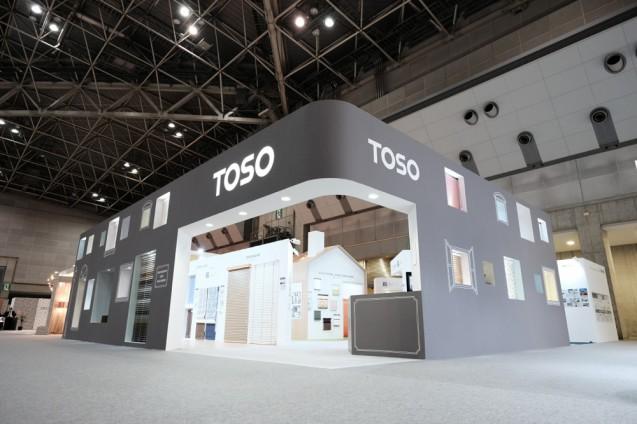 展示会ブースデザイン|JAPANTEX 2015 TOSOブース