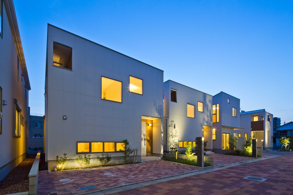 Willrose Terrace 石神井公園|コンセプト建売住宅、住宅設計、外構デザイン|Designcafe-Inc. 株式会社デザインカフェ