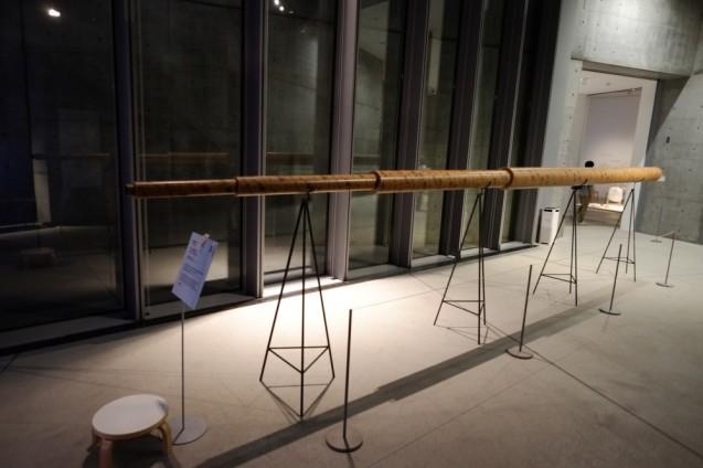 大西麻貴+百田有希/o + h 「望遠鏡のおばけ」、「長い望遠鏡」