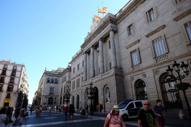 バルセロナ市庁舎(Casa de la Ciutat de Barcelona)