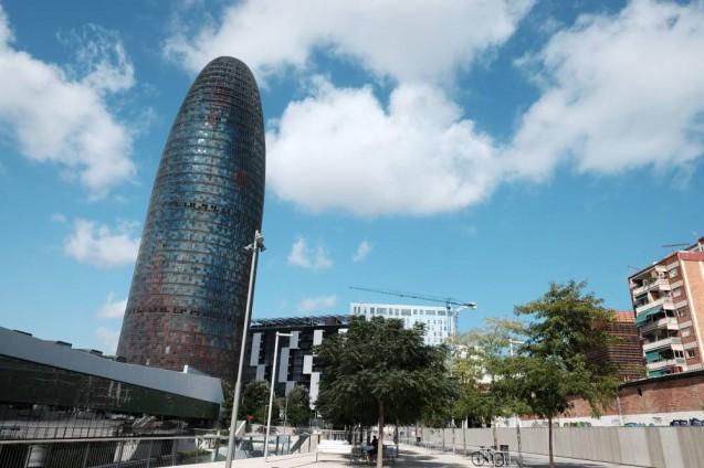 アグバータワー(アグバールタワー)(Torre Agbar )全景