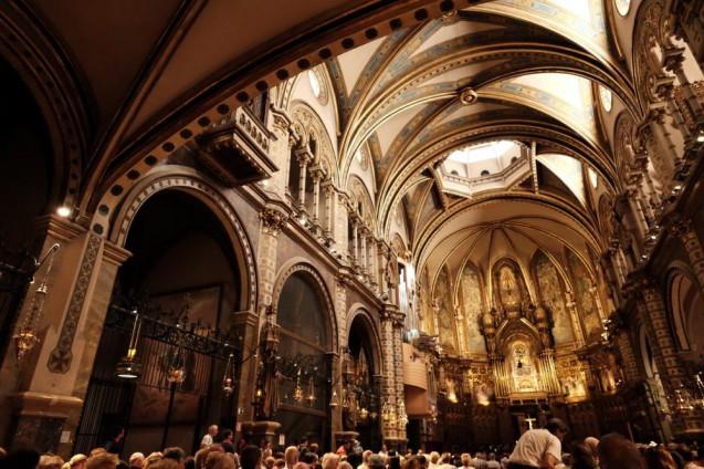Barcelona 2015 Vol.08|モンセラット修道院・聖堂の内部