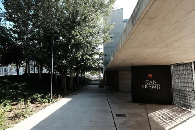 カン・フラミス(カン・フルミス)美術館。
