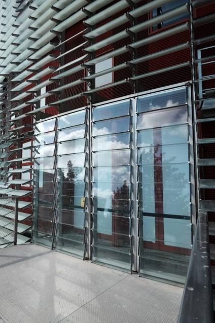 アグバータワー(アグバールタワー)外壁と開口部
