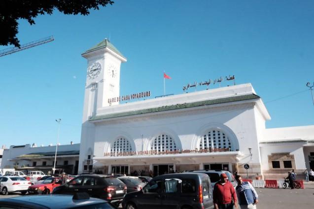 モロッコ・カサブランカの街並