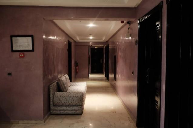 モロッコ・カサブランカの宿