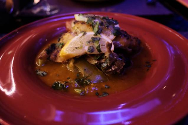 モロッコ・カサブランカの食事