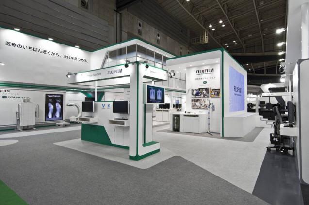 展示会ブースデザイン、展示会装飾、事例|ITEM in JRC 2017 富士フイルムブース (5)