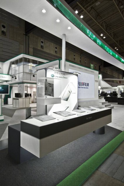 展示会ブースデザイン、展示会装飾、事例|ITEM in JRC 2017 富士フイルムブース (8)