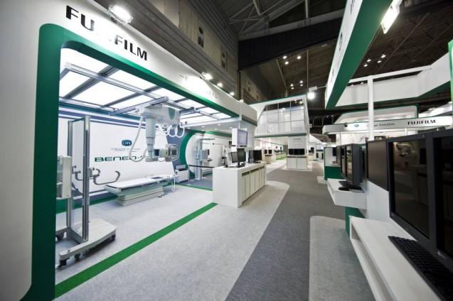 展示会ブースデザイン、展示会装飾、事例|ITEM in JRC 2017 富士フイルムブース (13)