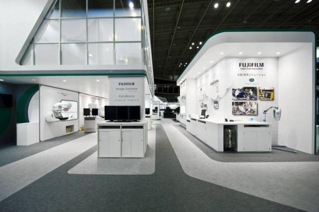 展示会ブースデザイン、展示会装飾、事例|ITEM in JRC 2017 富士フイルムブース (14)