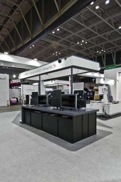 展示会ブースデザイン、展示会装飾、事例|ITEM in JRC 2017 富士フイルムブース (28)