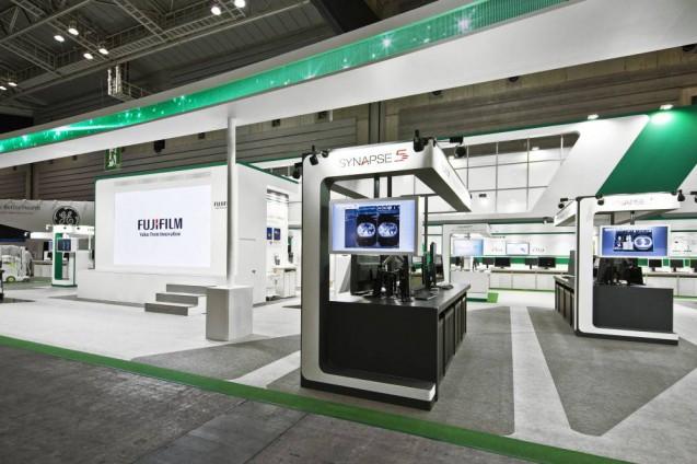 展示会ブースデザイン、展示会装飾、事例|ITEM in JRC 2017 富士フイルムブース (31)