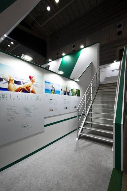 展示会ブースデザイン、展示会装飾、事例|ITEM in JRC 2017 富士フイルムブース (33)