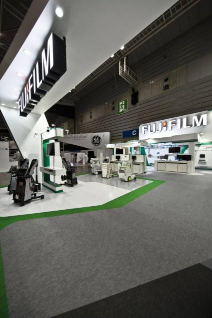 展示会ブースデザイン、展示会装飾、事例|ITEM in JRC 2017 富士フイルムブース (40)
