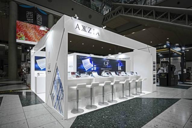 """スキンケアを多角的に見つめるブランド"""" AXXZIA -アクシージア-""""の2017-2018のプロモーションブースの計画の第二弾。 (4)"""