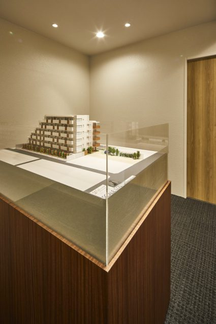 The ギャラリー日本橋:マンションギャラリーのインテリアデザインとコーディネートの事例 (12)