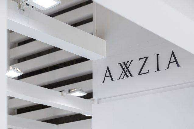 展示会デザイン、展示会装飾の事例|ビューティーワールドウェスト2018 アクシージア_ブース_2018 (2)