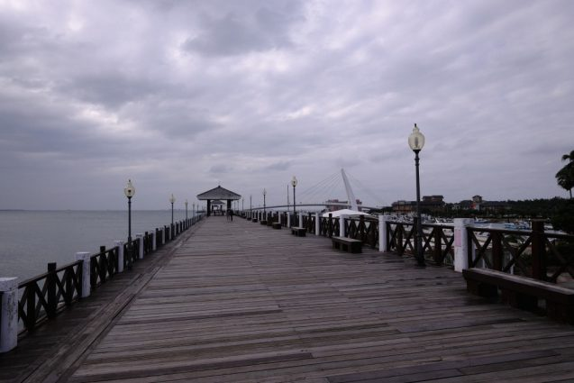 漁人碼頭の埠頭桟橋