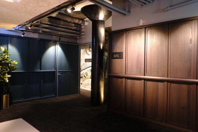 3F客室のエレベーターホール