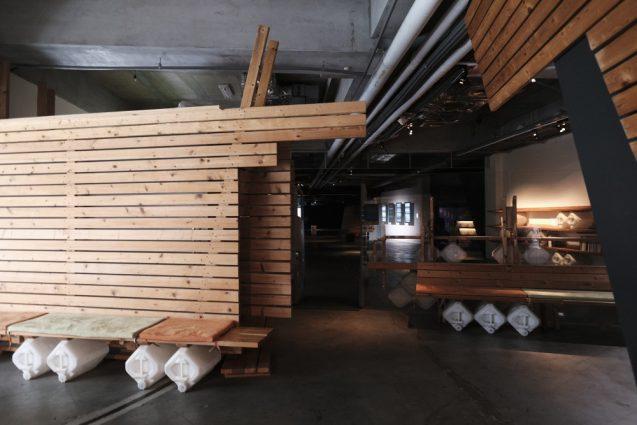 国立台湾美術館で開催されていたビデオアート展