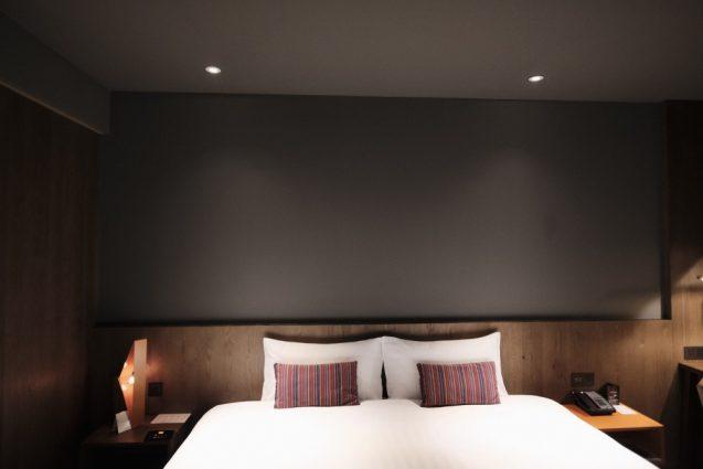 ホームホテル大安 Home Hotel DaAn のベッド。