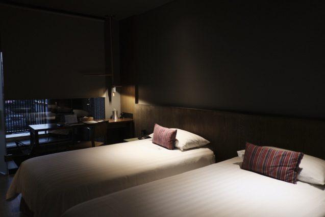 ホームホテル大安 Home Hotel DaAn ツインベッドルームの室内