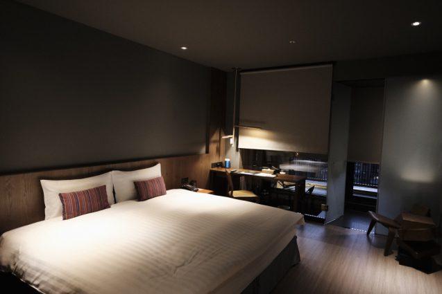 ホームホテル大安 Home Hotel DaAn ダブルベッドルームの室内