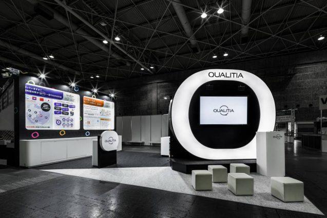 展示会ブースデザイン事例 IT-WEEK 2019 関西 クオリテチィア社の展示ブース (14)