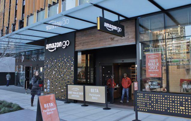 ショールーミング型店舗の実例。amazon go