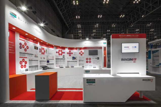 展示会ブースデザイン-プラスティックジャパン2018-東レダウコーニング
