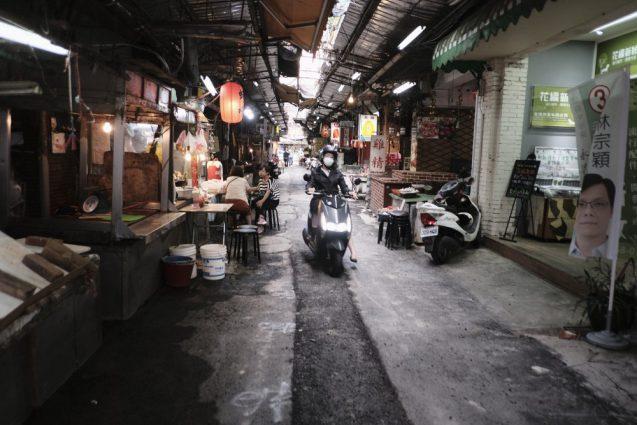 台北の合羽橋、 迪化街。あらゆる食材と道具が売られている街