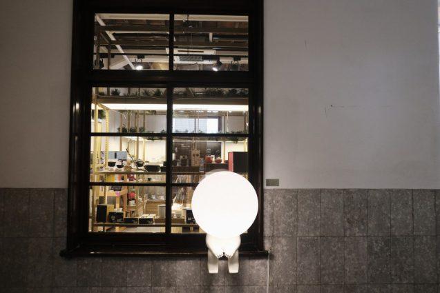 台湾デザインミュージアムのミュージアムショップ