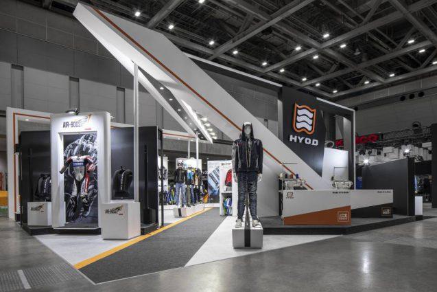 展示会 ブース デザイン 東京モーターサイクルショー2019 HYOD