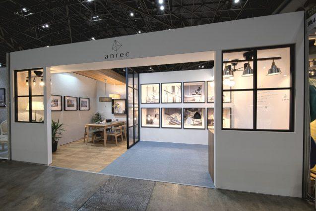 東京インターナショナルギフトショー2019に出展したanrecの展示ブース。全景。