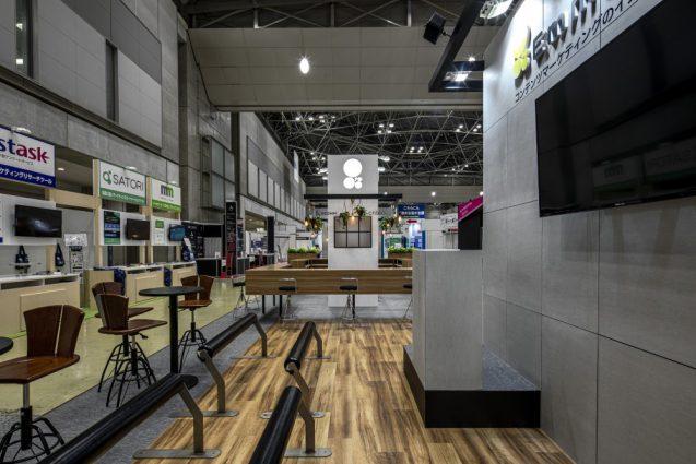 展示会ブースデザインと装飾の実例-JAPAN IT-WEEK 2019 春 Emma Toolsブース (5)