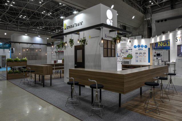 展示会ブースデザインと装飾の実例-JAPAN IT-WEEK 2019 春 Emma Toolsブース (4)