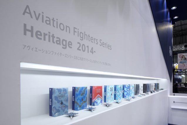 展示会ブースデザインと装飾の実例-全日本模型ホビーショーAVIATION FIGHTERS Booth 会場の様子 (4)