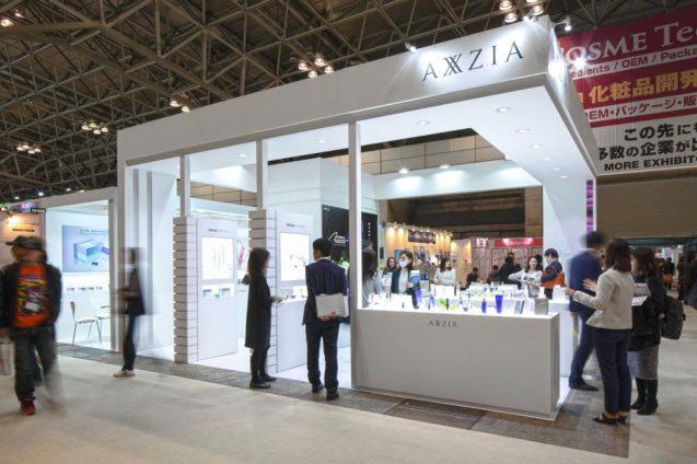Cosme Tokyo 2019_AXXZIAブース 会場の様子