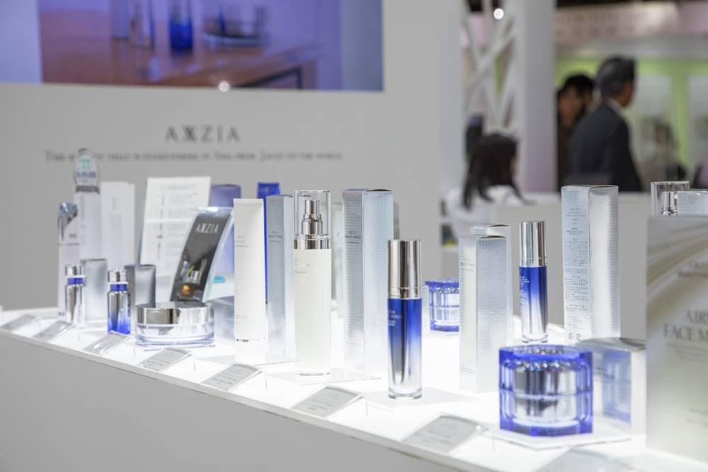 化粧品開発展2020 東京 アクシージアブース|商品近景